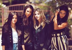 Pretty Little Liars. They seriously have the most amazing wardrobe & I want it all.