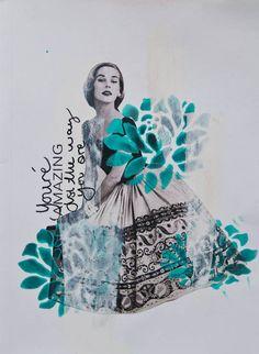 Art journaling vecka 43