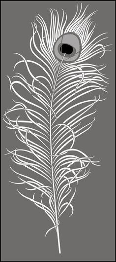 Rise Hall stencils from The Stencil Library. Buy from our range of Rise Hall stencils online. Page 1 of our Rise Hall stencil catalogue. Feather Stencil, Stencil Art, Stenciling, Peacock Art, Peacock Feathers, Stencil Patterns, Stencil Designs, Bird Template, Stencils Online