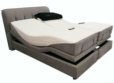 Smart Bed에 대한 이미지 검색결과 Electric Adjule Beds Bed Frame Gray