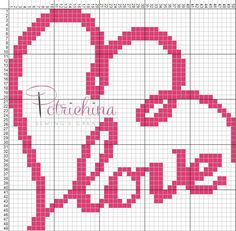 potrichina Small Cross Stitch, Cross Stitch Heart, Cross Stitch Cards, Cross Stitching, Cross Stitch Embroidery, Wedding Cross Stitch Patterns, Graph Paper Art, Pixel Crochet, Plastic Canvas Patterns