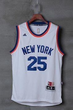0dde28f9399f New 2016-17 Derrick Rose New York Knicks Swingman Basketball Men Jersey  White