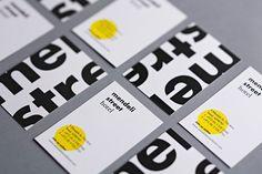 New Brand Identity for Mendeli Street by Koniak - BP&O - Business cards created for Tel aviv hotel Mendeli Street designed by Koniak. Corporate Design, Brand Identity Design, Graphic Design Branding, Stationery Design, Business Card Design, Name Card Design, Bussiness Card, Cool Business Cards, Minimal Business Card