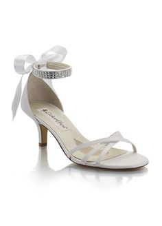 Cassidy from David's Bridal    I love these shoes they are cute and not too high!!  #DBBridalStyle