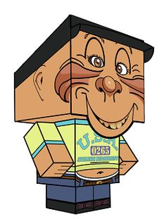 Bubba J as a cubeecraft from the Jeff Dunham show.  He is a fun papercraft toy and free to download and print :D