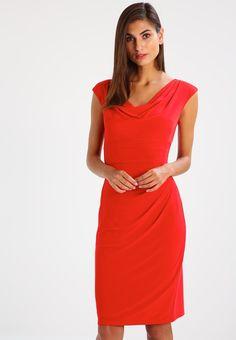 Lauren Ralph Lauren VALLI - Vestito di maglina - signature red - Zalando.it