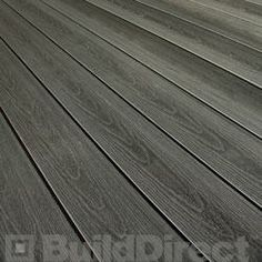Front porch and back deck  BuildDirect: Driftwood Composite Decking / Dimensions: 7/8