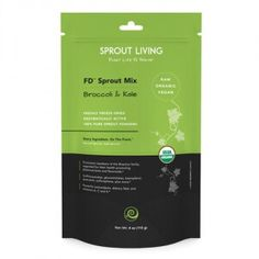 Freshly freeze-dried enzymatically active 100% pure sprout powder from @sproutliving.  Freeze Dried Broccoli & Kale Sprouts provide a highly concentrated source of powerful nutrients and antioxidants to promote vibrant health. Powerful antioxidants, dietary fibre and vitamins A, C and K. Now available at Vivo Life!