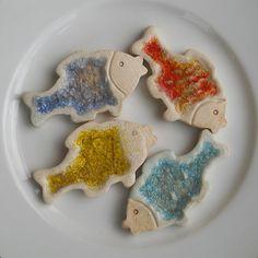 Vánoční ozdoby ryby Xmas Decorations, Sugar, Cookies, Desserts, Food, Crack Crackers, Tailgate Desserts, Deserts, Eten