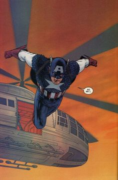 Captain America (Steve Rogers) is a fictional character, a superhero in the Marvel Comic universe. Created by Joe Simon and Jack Kirby, he first appeared in Captain America Comics in 1941 Comic Book Pages, Comic Book Characters, Marvel Characters, Comic Books Art, Comic Art, Book Art, Steve Rogers, Captain America Comic Books, Marvel Captain America