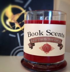 Katniss  Book Inspired Candle  Handpoured 10 by BookScentsCandles, $14.00