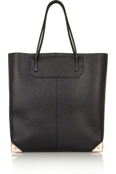 Alexander Wang Prisma textured-leather tote | NET-A-PORTER