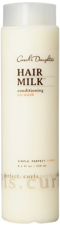 Carol's Daughter Hair Milk Co-Wash Cleansing Conditioner, 8.5 oz