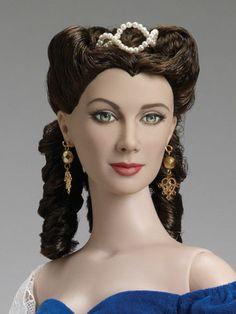 "Tonner New 22"" American Model Portrait Scarlett Gone with The Wind Doll Photo | eBay"