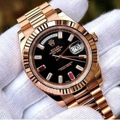 Timeless: The Rolex Day-Date President in #rosegold #rolexpresident #rolex…