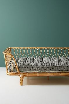 Amara Daybed Cushion by Anthropologie in Grey Size: All, Sofas - Sunroom Furniture, Hanging Furniture, Unique Furniture, Furniture Making, Plywood Furniture, Furniture Design, Hammock Chair, Eames Chairs, Lounge Chairs