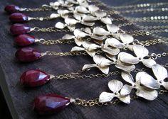 bridesmaids necklaces