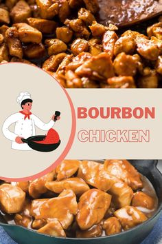 Ingredients - 1 kilo of boneless chicken breasts - 3 cloves of garlic - 1 tablespoon of grated ginger - 1 pearl onion - 1 bucket of chicken broth - ¼ of ketchup cup - 2 tablespoons of soy sauce - ½ cup of brown sugar - 2 tablespoons of cornstarch etc ... Boneless Chicken Breast, Chicken Breasts, Chicken Wings, Bourbon Chicken, Apple Vinegar, Cooking For One, Corn Starch