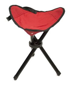 Look at this Red Portable Outdoor Tripod Seat on #zulily today!