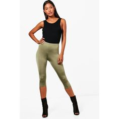 Boohoo Hayley Cropped Disco Slinky Leggings ($6) ❤ liked on Polyvore featuring pants, leggings, white pants, white leggings, white palazzo pants, wide leg pants and wide leg cropped pants