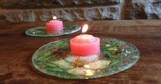 ¡Tenéis que ver este tutorial! Se trata de decorar CDs viejos con decoupage para usarlos como bases de velas. ¡Atentos!