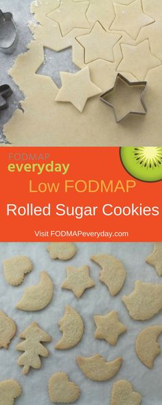 Our low FODMAP Rolled Sugar Cookies are classic and easy to make and versatile for any occasion. And the perfect cookie to make with friends and family.