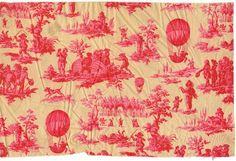 Toile de Jouy, Balloon Print