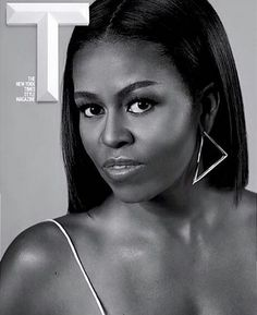 """♕ AFRODESIAC ETHNIC WOMEN OF CULTURE WORLDWIDE ♕ Michelle Obama for Time Magazine"