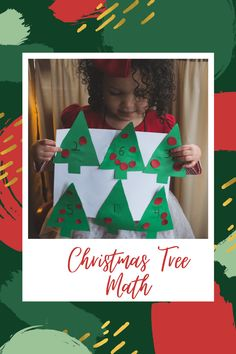 Christmas Crafts To Make, Simple Christmas, Christmas Holidays, Christmas Decorations, Christmas Tree, Christmas Ideas, Easy Diy Crafts, Diy Crafts For Kids, Counting Activities