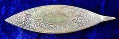 Antique Victorian Sterling Silver Thread Holder Shunt Bobbin Tool 2 | Vintageblessings