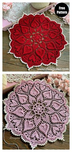 Free Crochet Doily Patterns, Crochet Art, Thread Crochet, Crochet Designs, Crochet Crafts, Crochet Projects, Knitting Patterns, Crochet Doily Diagram, Crochet Tablecloth Pattern