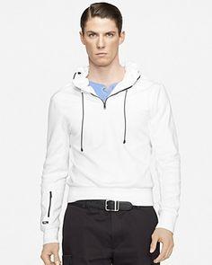 Ralph Lauren Black Label Cotton Interlock Pullover Hoodie | Bloomingdale's