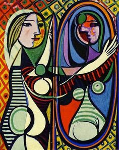 Pablo Picasso - Woman before a mirror