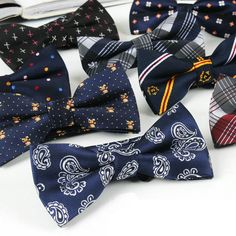 Men Polyester Camo Tartan Grids Paisley Flowers Polka Dots Bow Ties TSBWT0018♦️ B E S T Online Marketplace - SaleVenue ♦️👉🏿 http://www.salevenue.co.uk/products/men-polyester-camo-tartan-grids-paisley-flowers-polka-dots-bow-ties-tsbwt0018/ US $2.99