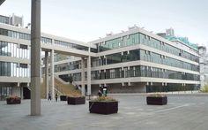 University of Leeds, by Chamberlin Powell & Bon.