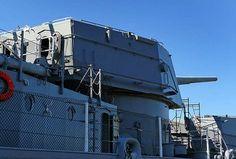 USS Salem (CA-139) - English Uss Salem, Heavy Cruiser, United States Navy, World War Ii, Bucket, English, Places, World War Two, Us Navy