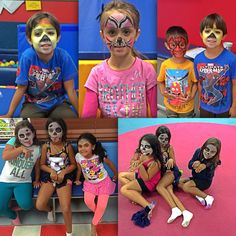 Did You Know We Offer Face Painting In Some Of Our Birthday Party Packages My Gym Doral