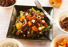 Sweet Potato Salad with Apple, Cranberries and Pecans