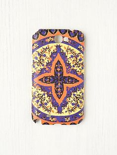 Printed Galaxy Note II Case - Love the colors and print.