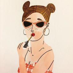 Hello boyssss  #bodiljane #redlips #lipgloss #beachbabe by bodiljane