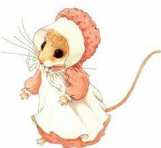 Priscilla Hillman's mouse art