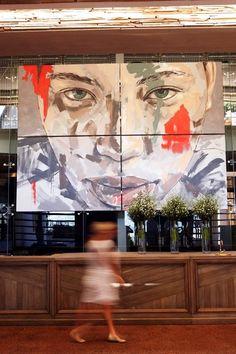 Portrait Painting-Lionel Smit at Delaire Graff Estate, Stellenbosch 2011 South Africa Art, Black Art Painting, South African Artists, Best Street Art, Portrait Art, Portraits, Happy Art, Sculpture Art, Sculptures