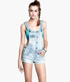 Overall Shorts #Summer #Swimsuit #Coverup Fashion Finds - Hits 96.1