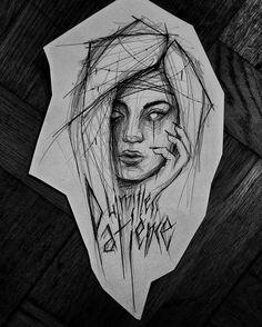 #mood #darkartists #blackworkers #blackwork #sketch #drawing