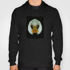 Duck or eagle? Hoody It looks a bit like the face of a duck, but actually it's a mirrored bald eagle.   You will see it, when you turn your head to the left or right. It's based on this pic:  https://society6.com/product/mm-bald-eagle-portrait_print#1=45  animal, bald eagle, beak, bill, bird, black, duck, eyes, face, fun, funny, humor, humour, nib, optical illusion, photography, visual trick, white, nature, digital art  Here's another funny animal…