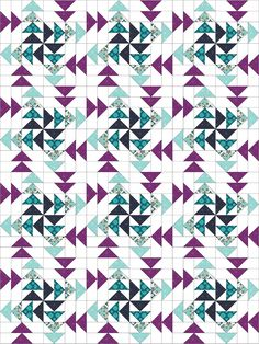 Modern With A Twist :: Flying Geese (Twiggy & Opal) Easy Quilts, Mini Quilts, Jellyroll Quilts, Scrappy Quilts, Quilting Projects, Quilting Designs, Quilting Ideas, Modern Quilt Blocks, Flying Geese Quilt