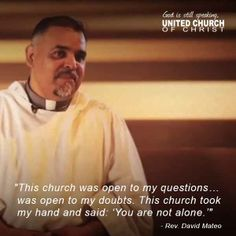 The Voices of the UCC: Rev. David Mateo