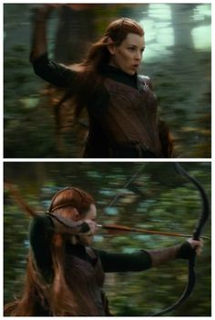 Tauriel! I must say that despite my initial reservations about her, I ended up REALLY REALLY REALLY liking her! :D