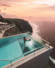 Tag Someone Youd Enjoy This View With The Edge Bali #vacation : @agusleohalim