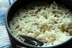 Indian Rice - Scented with Cumin Seed  #Vegan #Gluten Free